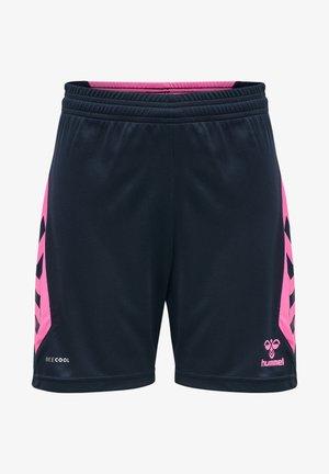 HMLACTION  - Sports shorts - black iris/sugar plum
