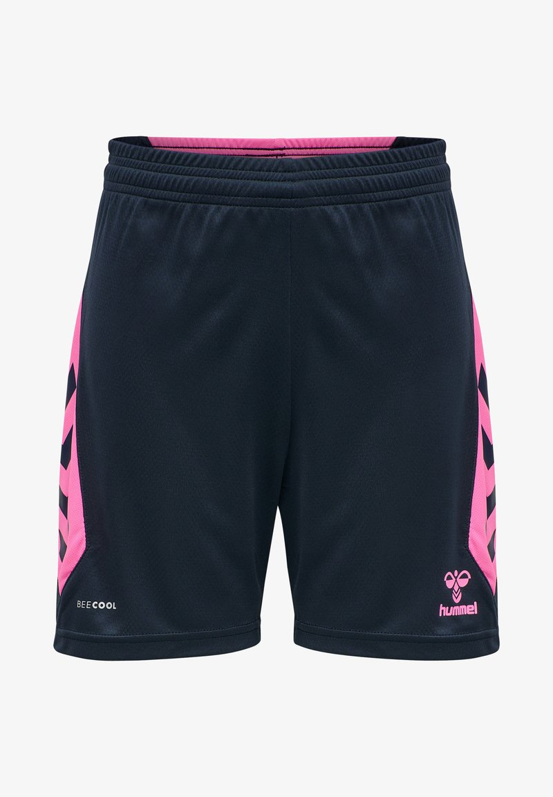 Hummel - HMLACTION  - Sports shorts - black iris/sugar plum