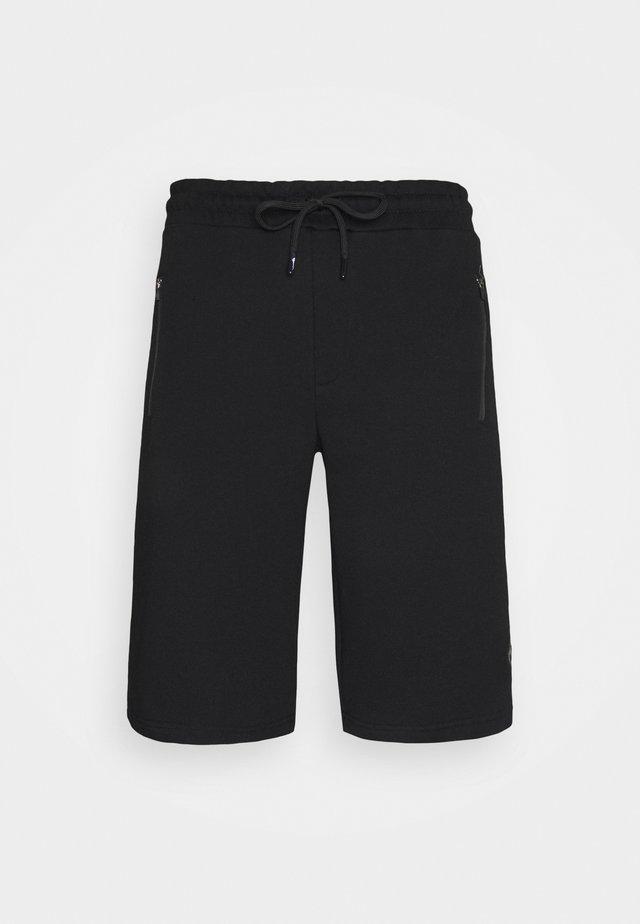 SHORTS - Pantaloncini sportivi - schwarz/bordo