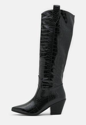 JOSEFINA - Cowboy/Biker boots - black