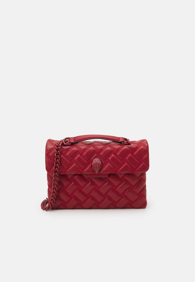 KENSINGTON BAG DRENCH - Handtas - red