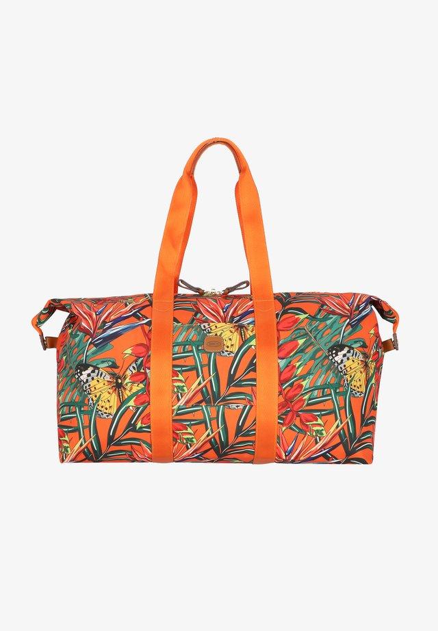 Sac de voyage - orange butterflies