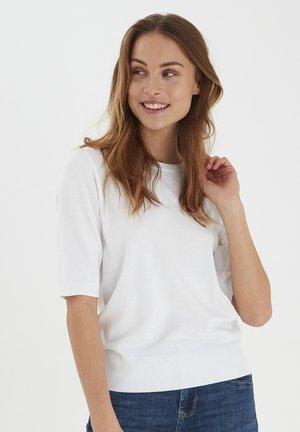 PZSARA - T-shirt med print - bright white