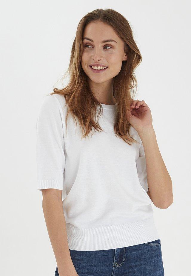 PZSARA - T-shirt con stampa - bright white