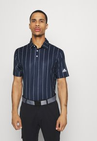 adidas Golf - ULTIMATE SPORTS GOLF SHORT SLEEVE - Funkční triko - collegiate navy/grey three/white - 0
