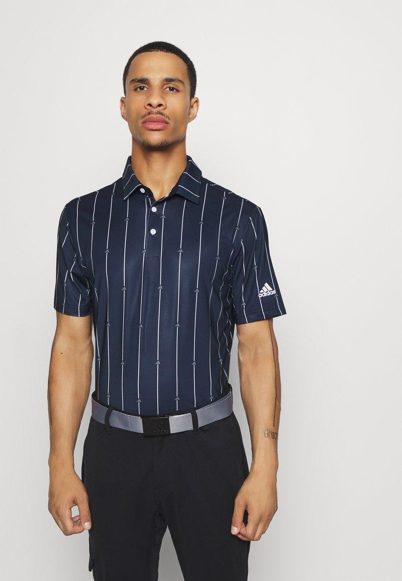 adidas Golf - ULTIMATE SPORTS GOLF SHORT SLEEVE - Funkční triko - collegiate navy/grey three/white