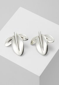 UNOde50 - MY NATURE L CHARM LEAF EARRING - Boucles d'oreilles - silver-coloured - 0