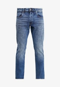 3301 STRAIGHT TAPERED - Jeansy Straight Leg - kir stretch denim