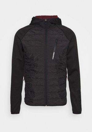 JCOTOBY TWIST HYBRID JACKET - Sportovní bunda - black