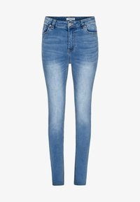 Morgan - Slim fit jeans - bleached denim - 4