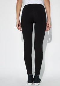 Tezenis - BASIC - Leggings - Trousers - nero - 2