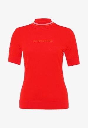 SELMA - T-shirt z nadrukiem - racing red