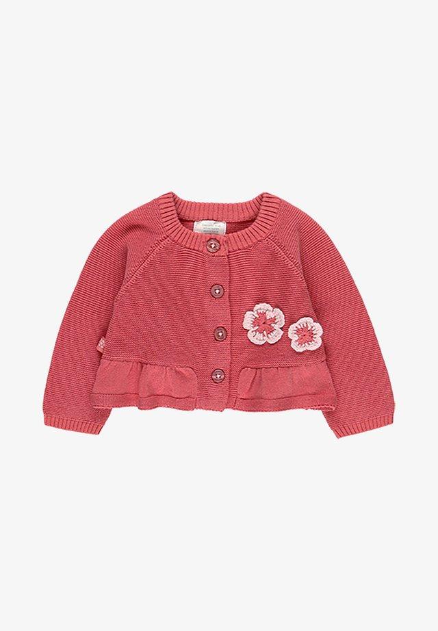 FLOWERS - Gilet - raspberry