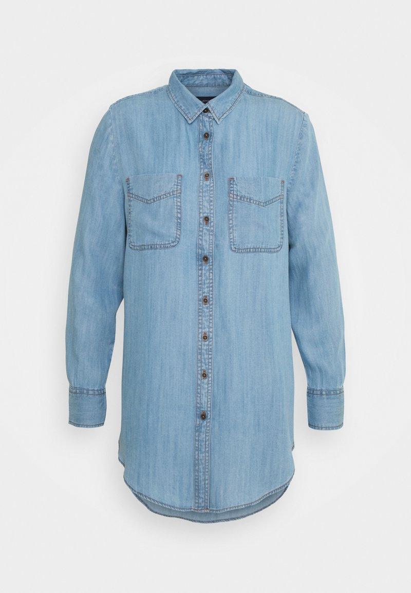 Marks & Spencer London - RELAXED - Overhemdblouse - blue denim
