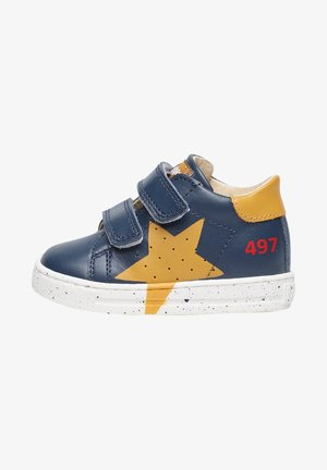 SALAZAR MIT PRINTMOTIV-HE - Baby shoes - blau