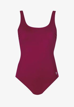 Swimsuit - dark red