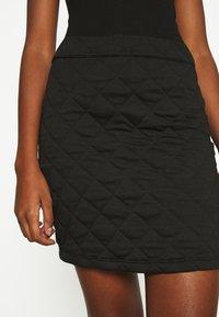 ONLY - ONLSPIRIT SHORT SKIRT - Pencil skirt - black - 4