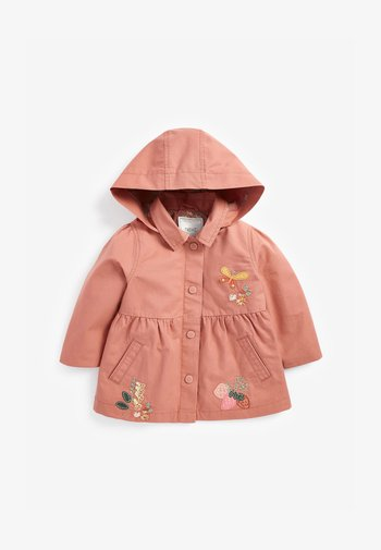 EMBROIDERED - Light jacket - brown