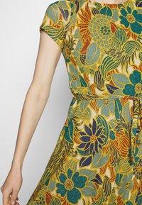 King Louie - BETTY PARTY DRESS SAN FELIPE - Jersey dress - ceylon yellow - 5