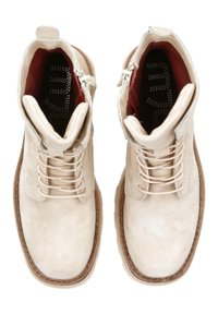 MJUS - Lace-up ankle boots - panna - 4