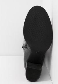 Lazamani - Høje støvler/ Støvler - black - 6