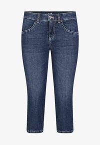 MAC Jeans - GRETA - Denim shorts - blueblack - 0