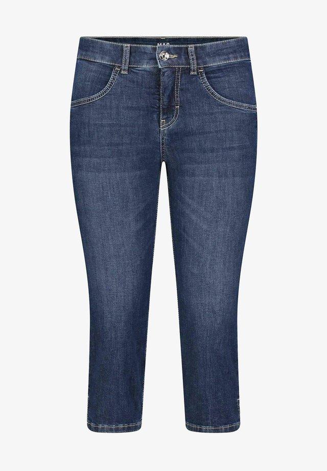 GRETA - Denim shorts - blueblack