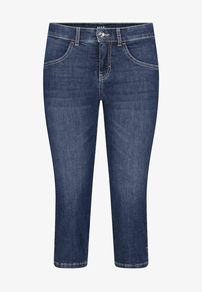 MAC Jeans - GRETA - Denim shorts - blueblack
