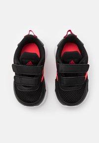 adidas Performance - TENSAUR RUN UNISEX - Chaussures de running neutres - core black/signal pink/power pink - 3