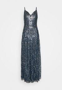 Lace & Beads - FRANCINE MAXI - Společenské šaty - navy - 4
