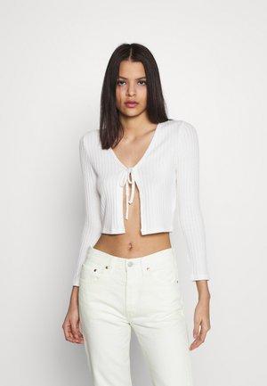 COSY BRUSHED RIB  - Langærmede T-shirts - winter white