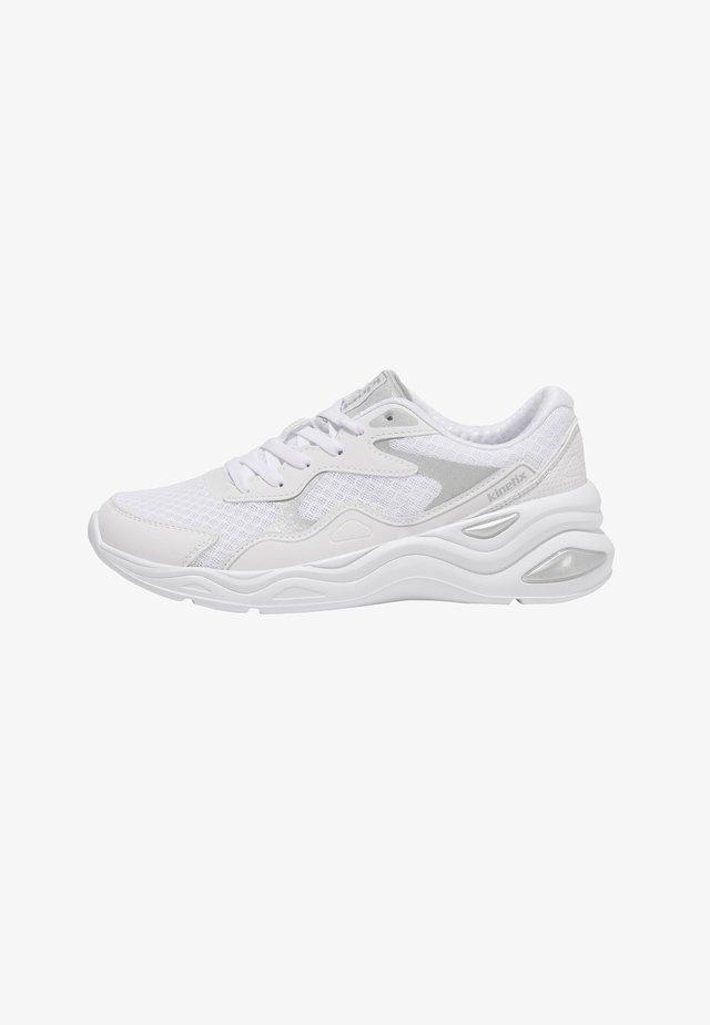 BOLGI - Sportieve wandelschoenen - white