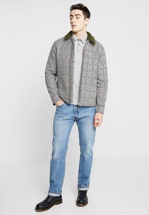 BASIC 2 PACK  - Polo shirt - grey/navy