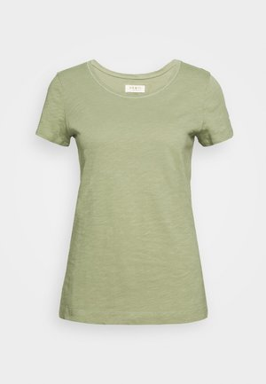 ARDEN V NECK TEE - Basic T-shirt - oil green