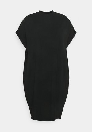 NMHAILEY DRESS - Žerzejové šaty - black