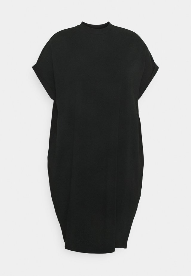 NMHAILEY DRESS - Trikoomekko - black