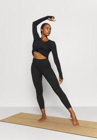 Cotton On Body - SEAMLESS HI LOW 7/8 - Tights - black - 1