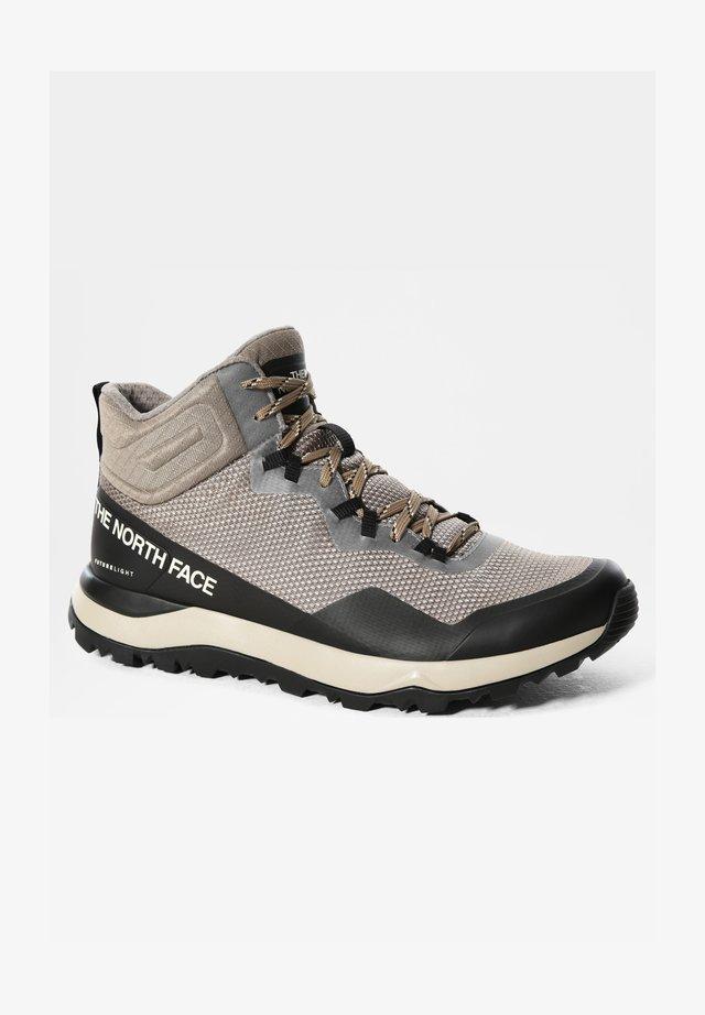M ACTIVIST MID FUTURELIGHT - Chaussures de marche - mineral grey/tnf black