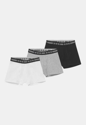 3 PACK - Pants - black
