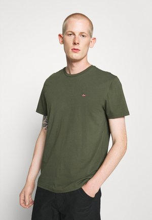 SALIS - T-shirt basic - green depths