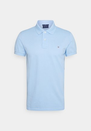 ORIGINAL SLIM RUGGER - Polo shirt - capri blue