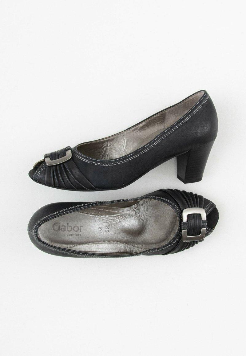 Gabor Comfort - Peeptoes - black
