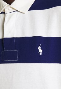 Polo Ralph Lauren - RUGBY LONG SLEEVE - Polotričko - deckwash white/fall royal - 6