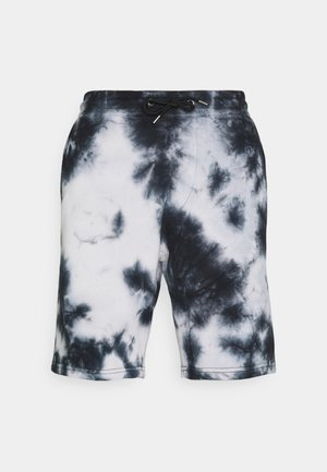 UNISEX - Shorts - black/white