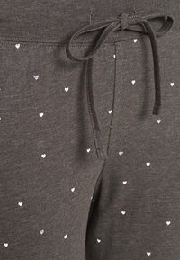 Lindex - NIGHT TROUSERS TEA - Pyjama bottoms - dark grey melange - 2