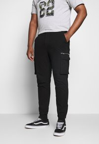 River Island - Cargo trousers - black - 0