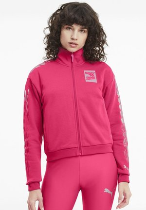 Training jacket - glowing pink