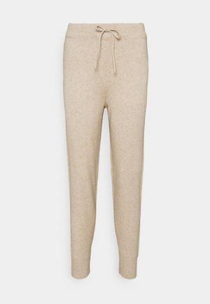 VIRIL PANT - Tracksuit bottoms - natural melange