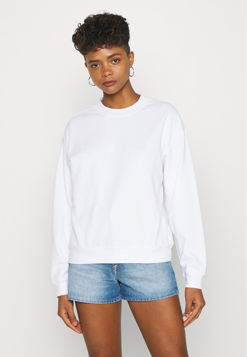 Monki - Sweatshirt - white