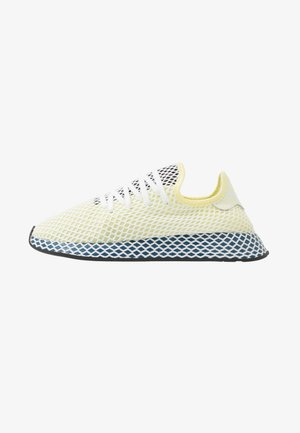 DEERUPT RUNNER - Trainers - yellow tint/footwear white/legend marine